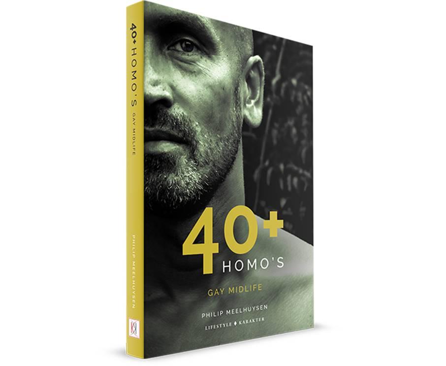 Boek: 40+ Homo's. Gesprekken over Gay Midlife